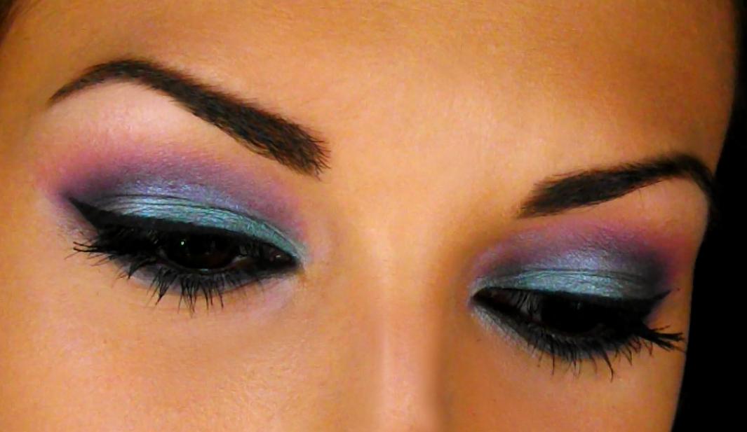 Maquillaje en tonos azules rosas y morados ssweetcriss - Tonos azules ...